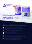 Why change to AMSORB® Plus?