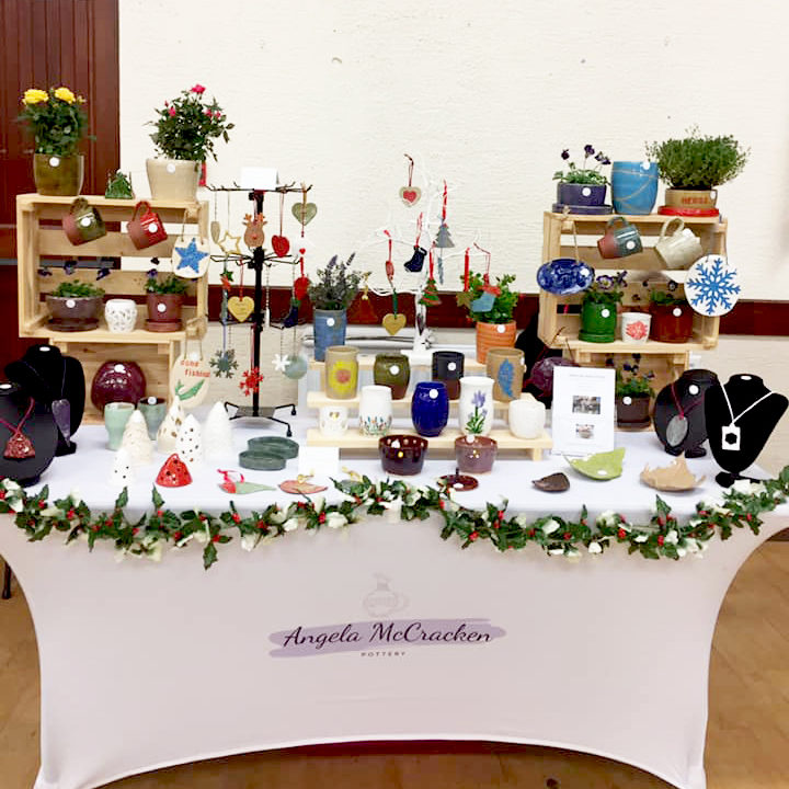 Photo Angela McCracken Pottery Stand