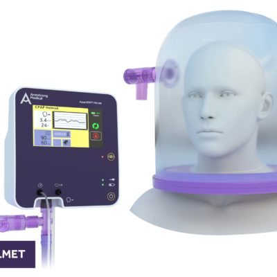 image of FD140i with CPAP Helmet