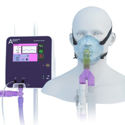 image of FD140i with Mask CPAP