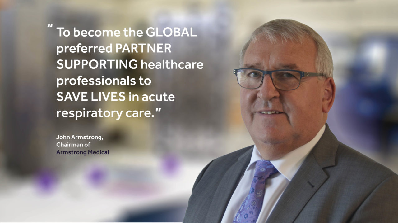 image of John Armstrong - CEO of Armstrong Medical