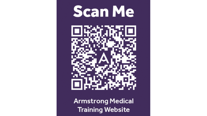 QR code to get to our dedicated training page
